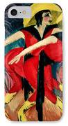 Dancers In Red IPhone Case