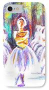 Dancers In The Forest II IPhone Case