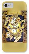 Dancing Ganesh IPhone Case