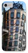 Dancing House In Prague IPhone Case by Jelena Jovanovic