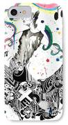 Dancing In Berlin IPhone Case by Oddball Art Co by Lizzy Love