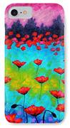 Dancing Poppies IPhone Case