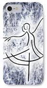 Dancing Swan IPhone Case by Kamil Swiatek