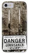Danger IPhone Case by Mark Rogan