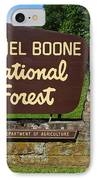 Daniel Boone IPhone Case