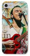 Dave Matthews Shotgun IPhone Case by Joshua Morton