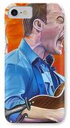 Dave Matthews The Last Stop IPhone Case by Joshua Morton