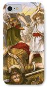 David Slaying Goliath IPhone Case