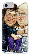 David Walliams And Matt Lucas As Lou And Andy IPhone Case by Art