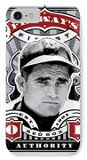 Dcla Bobby Doerr Fenway's Finest Stamp Art IPhone Case by David Cook Los Angeles