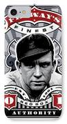 Dcla Tris Speaker Fenway's Finest Stamp Art IPhone Case