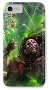 Death's Presence IPhone Case by Ryan Barger