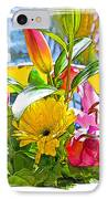December Flowers IPhone Case by Chuck Staley