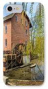Deep River County Park Grist Mill IPhone Case by Paul Velgos