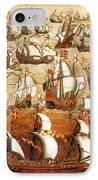 Defeat Of The Spanish Armada 1588 IPhone Case