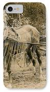 Delivering The Mail 1907 IPhone Case