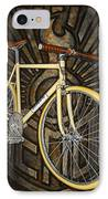 Demon Path Racer Bicycle IPhone Case by Mark Jones