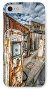 Derelict Gas Station IPhone Case by Adrian Evans