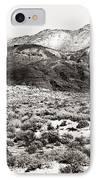 Desert Peaks IPhone Case by John Rizzuto