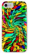 Designer Phone Case Art Colorful Rich And Bold Abstracts Cell Phone Covers Carole Spandau Cbs Art136 IPhone Case by Carole Spandau