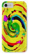 Designer Phone Case Art Colorful Rich Bold Abstracts Cell Phone Covers Carole Spandau Cbs Art 139  IPhone Case by Carole Spandau