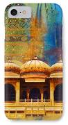 Detail Of Mohatta Palace IPhone Case
