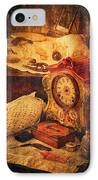 Antique Details IPhone Case by Maria Angelica Maira