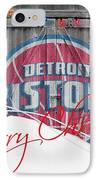 Detroit Pistons IPhone Case