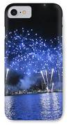 Detroit River Fireworks IPhone Case by Michael Rucker