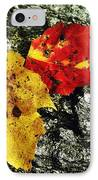 Deux Feuilles IPhone Case by JAMART Photography