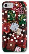 Dice IPhone Case by John Rizzuto