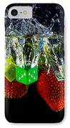 Dice Splash IPhone Case by Rene Triay Photography