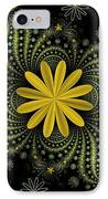 Digital Flowers IPhone Case