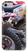 Dirt Bikes IPhone Case by Rick Piper Photography
