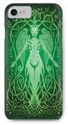 Divine Life V.2 IPhone Case by Cristina McAllister