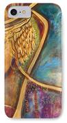 Divine Wisdom IPhone Case by Shiloh Sophia McCloud
