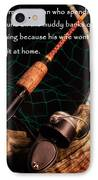 Doing Nothing IPhone Case by Bill Wakeley