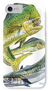 Dolphin Kingfish IPhone Case