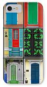 Doors New Orleans IPhone Case by Christine Till