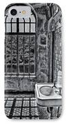 Dormer Bathroom Side View Bw IPhone Case