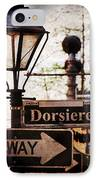Dorsiere IPhone Case by Ray Devlin