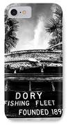 Dory Fishing Fleet Sign Picture In Newport Beach IPhone Case