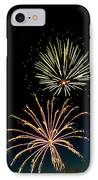 Double Fireworks Blast IPhone Case by Robert Bales