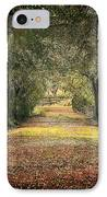Down The Lane IPhone Case by Gail Falcon
