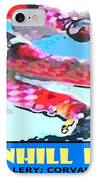 Downhill Racer IPhone Case by Michael Moore
