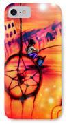 Dreamcatcher IPhone Case by Ruben Santos