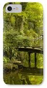 Dreamy Japanese Garden IPhone Case by Sebastian Musial