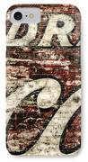 Drink Coca-cola 2 IPhone Case by Scott Norris