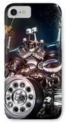 Drum Machine - The Band's Engine IPhone Case by Alessandro Della Pietra