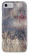 Dry Grasses And Bare Trees IPhone Case by Elena Elisseeva